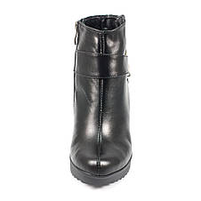 Ботинки демисез женск Vakardi V54D черная кожа (37), фото 3