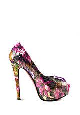 Туфли женские Elmira V5-151T мультиколор (36), фото 3