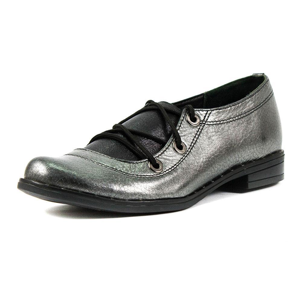Туфли женские Vakardi V104 серебряная кожа (37)