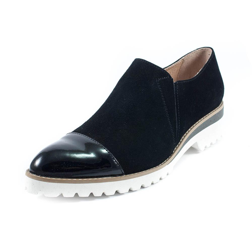 Туфли женские Tutto Shoes T3301 черная замша (36)