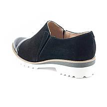 Туфли женские Tutto Shoes T3301 черная замша (36), фото 2