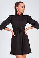 S, M, L / Стильне коротке жіноче плаття Kapry, чорний