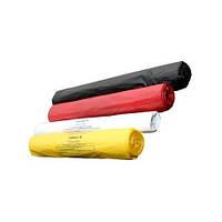 Пакеты для утилизации медицинских отходов в с биркой и стяжкой, класс Б (опасные) 18л, 100шт.
