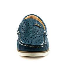 Мокасіни жіночі SND синій 11707 (36), фото 3