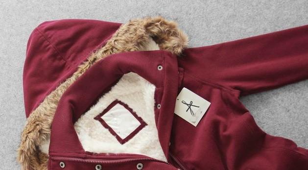Дитяча куртка з хутром Atmosphere, 34 розмір