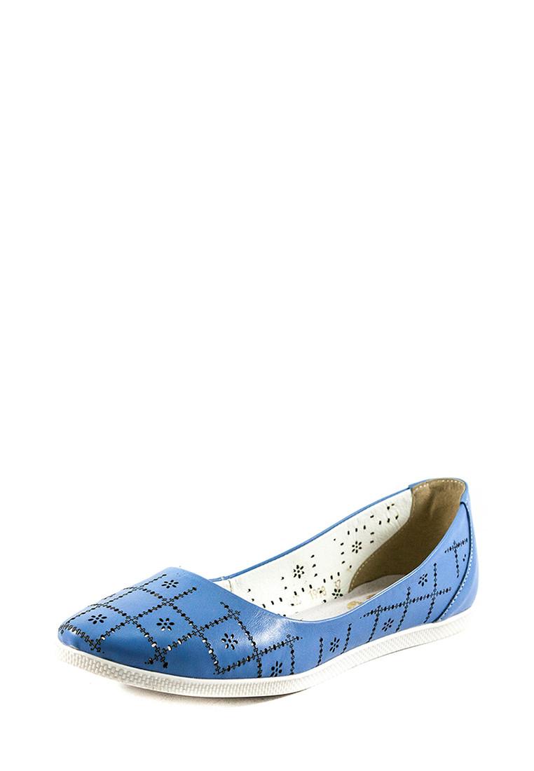 Балетки жіночі SND блакитний 18582 (37)