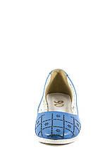 Балетки жіночі SND блакитний 18582 (37), фото 3