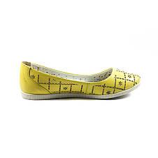 Балетки жіночі SND жовтий 11417 (37), фото 2