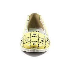 Балетки жіночі SND жовтий 11417 (37), фото 3