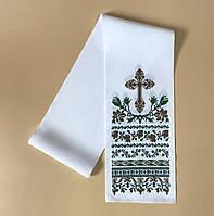 Рушник з хрестом 140*14 (від 10 штук), фото 1