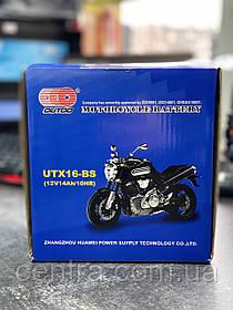 Аккумулятор мото Outdo 14Ah YTX16-BS