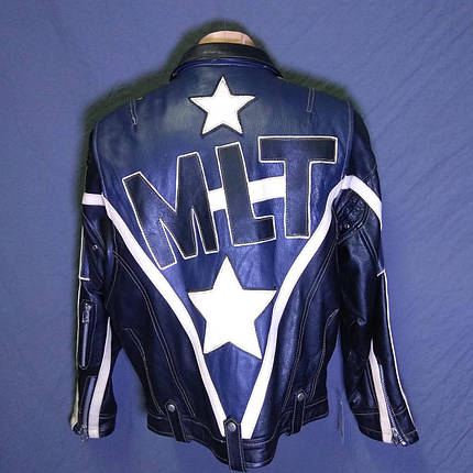 Мотокуртка MLT б/у кожа, фото 2