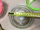 Сахарница / медовница стеклянная с ложкой Уточка Турция, фото 2