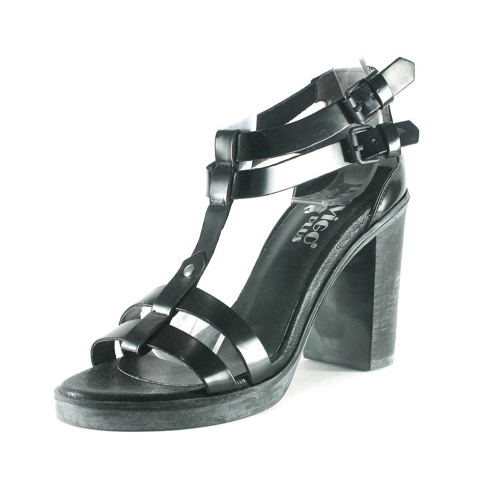 Босоніжки жіночі літні Rovigo чорний 07015 (36)