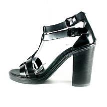 Босоніжки жіночі літні Rovigo чорний 07015 (36), фото 2