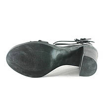 Босоніжки жіночі літні Rovigo чорний 07015 (36), фото 3