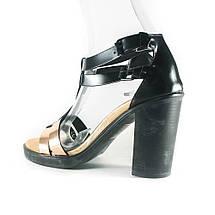 Босоножки женские Rovigo-Rifellini R866-Y-354 черно-золотые. (36), фото 2