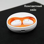 Беспроводные наушники c Селфи палкой блютуз наушники Air Pro К15 (К10) Bluetooth 5.0 новая версия Белые, фото 6