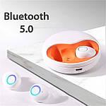 Беспроводные наушники блютуз наушники Wi-pods К15 (К10) Bluetooth 5.0 новая версия К10. Белые ОРИГИНАЛ, фото 2