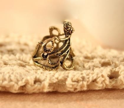 Кольцо Осьминог