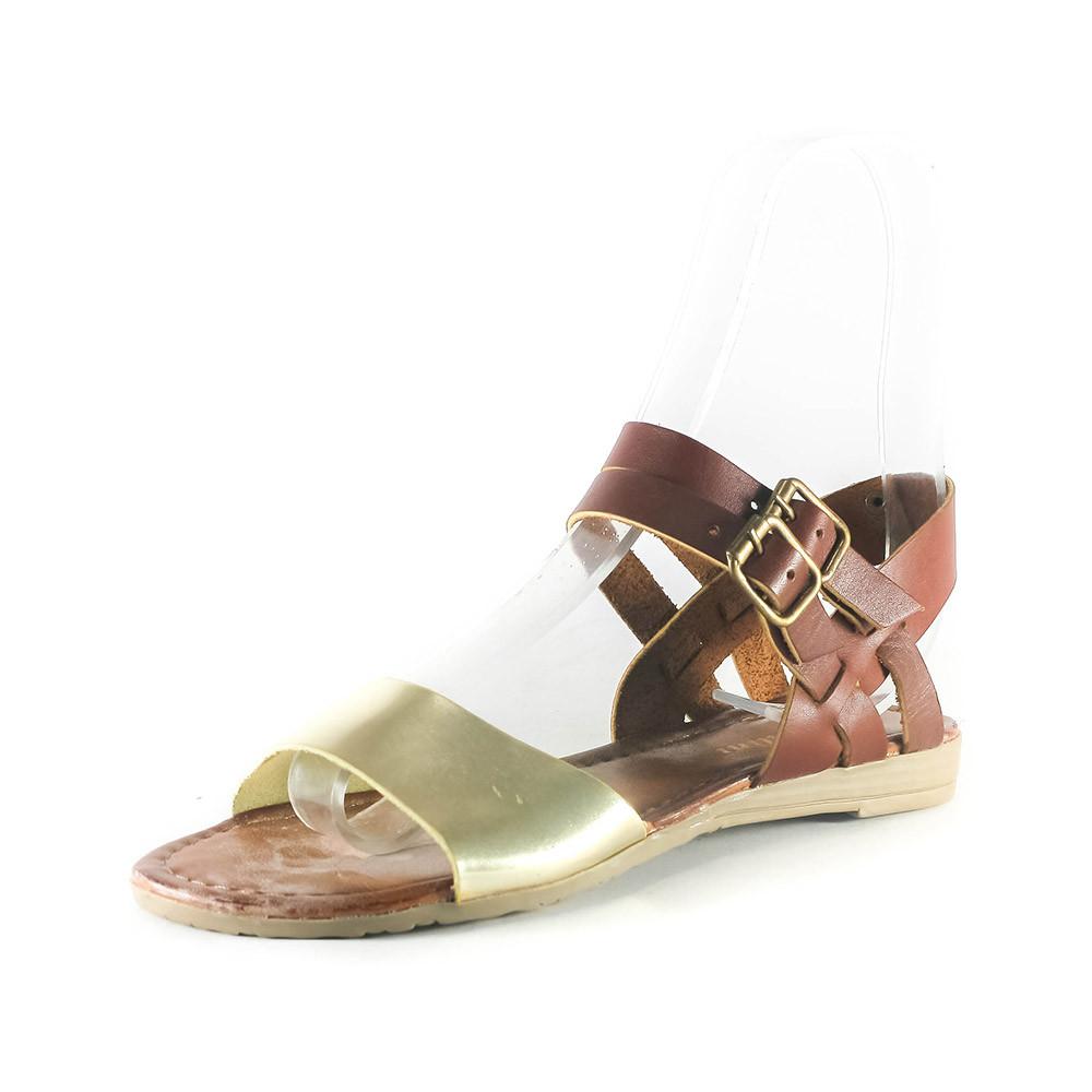Босоніжки жіночі літні Rovigo коричневий 07012 (36)