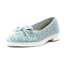 Туфли для девочек R522034205 голубые (32)