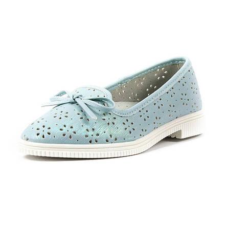 Туфлі для дівчаток Сказка блакитний 15969 (32), фото 2