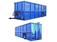 Контейнер для транспортировки навоза, мобильный контейнер для навозной жижи KR-55, 55 000 л