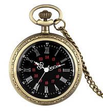 Карманные часы на цепочке винтажные