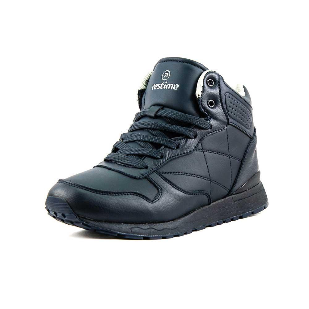 Ботинки зимние мужские Restime PMZ18148 синие (42)