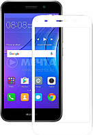 Защитное стекло Mocolo 2.5D Full Cover Tempered Glass Huawei Y3 2018 Белый 73610, КОД: 1171696