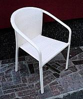 Кресло садовое плетеное из искусственного ротанга, фото 1