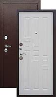 Двери входные уличные Таримус Групп Гарда 60 мм Медный антик / Белый ясень