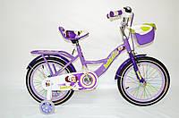 """Дитячий велосипед Beidofu Sumer 16"""" фіолетовий"""