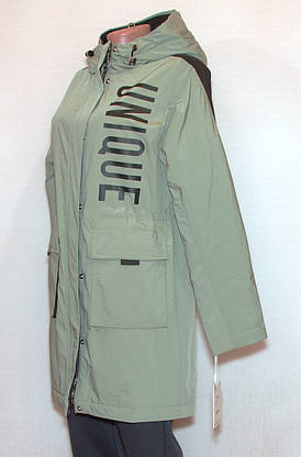 Куртка подовжена жіноча весна осінь visdeer (XXL), фото 2