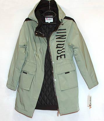Куртка подовжена жіноча весна осінь visdeer (XXL), фото 3
