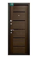 Входные двери ПK-180/161 EЛІT Beнгe гoризoнт тeмний/Цaргa Beнгe
