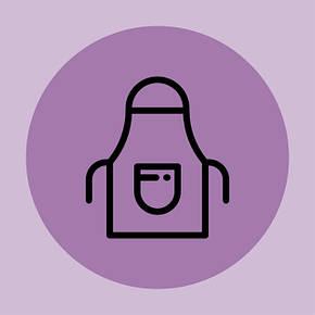 Фартуки с вышивкой логотипа