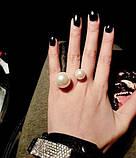 Кольцо Шанель Две Жемчужины, фото 3