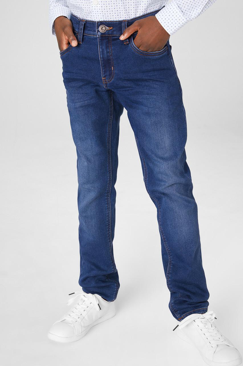 Утепленные джинсы для мальчика C&A Германия Размер 158