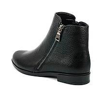 Ботинки демисезон женские MISTRAL M639 черная кожа (36), фото 2