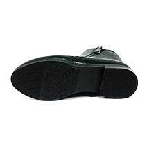 Ботинки демисезон женские MISTRAL M639 черная кожа (36), фото 3