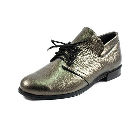 Туфли женские MISTRAL M576 бронза кожа (36), фото 2