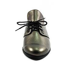 Туфли женские MISTRAL M576 бронза кожа (36), фото 3