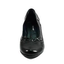 Туфли женские MISTRAL M501 черная кожа (36), фото 3