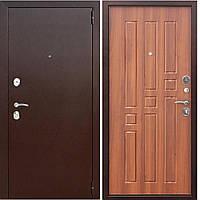 Двери входные уличные Таримус Групп Гарда 60 мм Медный антик / Рустикальный дуб