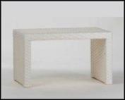 Столик плетенный садовый, фото 1