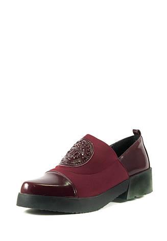 Туфли женские Elmira L5-140T бордовые (36), фото 2