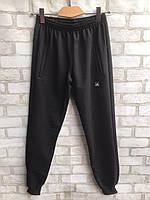 """Спортивные штаны мужские на манжетах """"Adidas"""" размеры норма 48-54, черного цвета"""