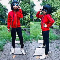 Стильный детский спортивный костюм, турецкая двухнитка, фото 1